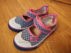 Текстильные туфли балетки мокасины Arial