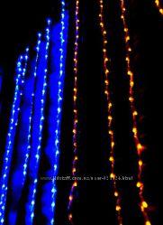 Двухцветная светодиодная гирлянда 320 Led 1001160