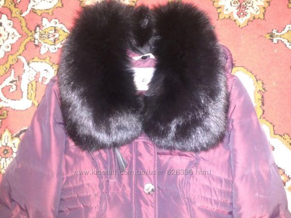 Зимняя курточка пуховик   штаны на флисе