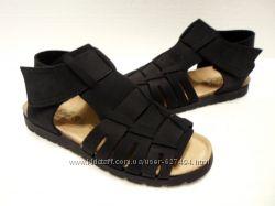 Кожаные ортопедические босоножки сандалии Biostep