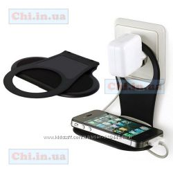 Складной настенный держатель-подставка для мобильного телефона