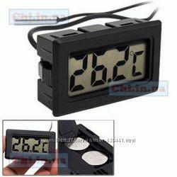 Термометр цифровой мини-жидкокристалический с выносным датчиком TPM-10
