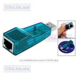 Usb сетевая карта 10100 LAN RJ45 USB 2. 0