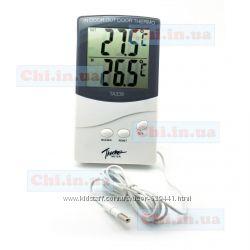 Термометр ТА338 inout с выносным датчиком 2 дисплея