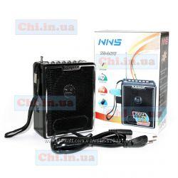Радиоприемник NNS NS-047, портативная колонка с FM радио, MP3, USB, SD