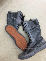 Практически новые ботинки ECCO оригинал 37 размер