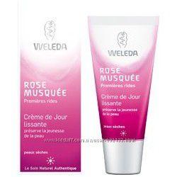 Уход для лица с Розой Weleda WildRose