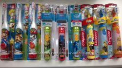 Детские электрические зубные щетки из Сша