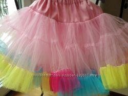 Шикарная юбка от 4 -9 лет
