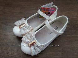 Белые туфли шалунишка р. 35-36