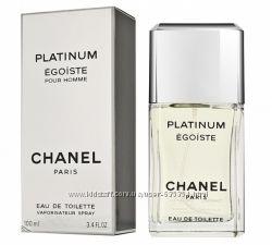 Chanel egoiste platinum мужская туалетная вода