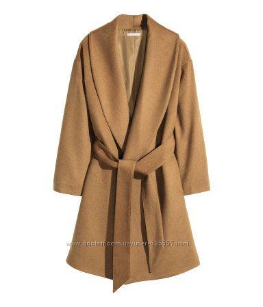 стильное пальто h&m на весну