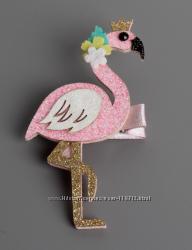 Блестящие заколочки Русалочка.  Фламинго