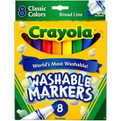 Карандаши, смываемые маркеры Crayola и Cra-Z-Art. Оригинал.