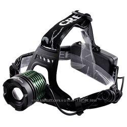 Налобный фонарь Police 2188B T6 - мощный тактический фонарик