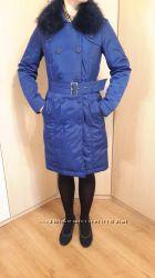 Элегантное пальто Savage с шикарным воротником 46 размер
