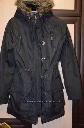 Куртка парка , черная размер маленький