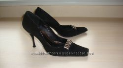 Замшевые туфли 39р ТМ Dino Ricci
