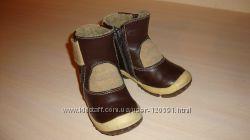 Кожаные деми ботиночки 25р ТМ Шаговита Беларусь