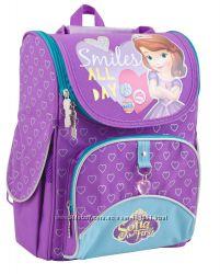 Распродажа. Школьный каркасный ранец Sofia purple 553269 ТМ 1 Вересня