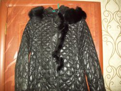 Пуховое пальто 48-50р