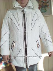 Новая зимняя куртка большого размера 56-58