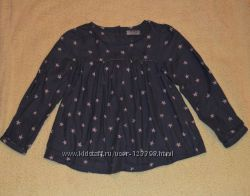 Блузка со звездочками тм NEXT, р. 4-5 лет
