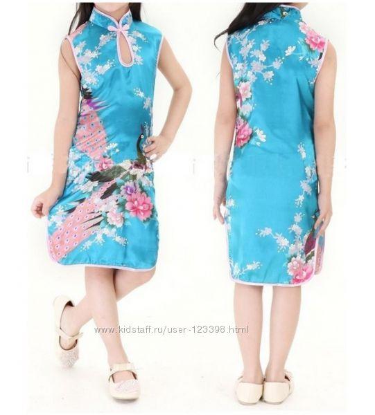 Платье для девочки в японском стиле