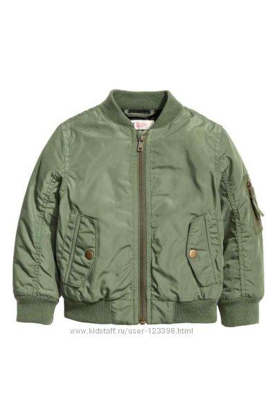 Утепленная куртка-бомбер H&M