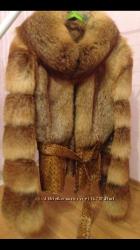 Шуба из лисы 44-46