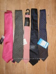 Распродажа галстук Next, DQT , sergio massimo Dutt, River Island Новые. Сток