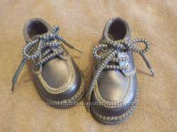 Кожаные туфли на мальчика 11 см по стельке