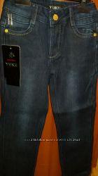 джинсы на флисе размер от 110 до 134, YUKE
