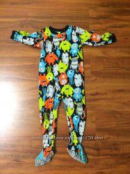 Флисовая пижамка carters на 4 года