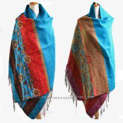 Красивый палантин из натуральной шерсти купить онлайн выгодно в Katakali