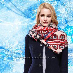 Купить палантин шарф из нежной 100 шерсти или натурального кашемира
