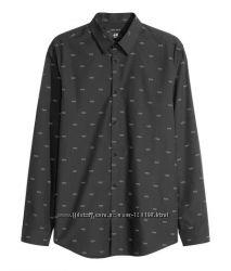 Классные рубашки h&m , много разных