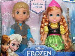 Набор кукол Малыши Анна и Кристоф Disney Frozen, говорящая Анна, олень Свен