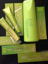 BBCOS кератиновая краска для волос Keratin Color с кератином без аммиака.