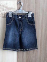шорты джинсовые на лето 4-5 лет