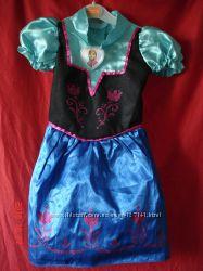 Карнавальное платье Frozen Anna Анна для девочки 4-6 лет