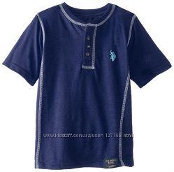 Футболка и  рубашка U. S. Polo Assn, на рост 160-170 см