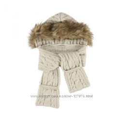 Mayoral шарф с капюшоном