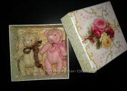 Мишки и слоники тедди