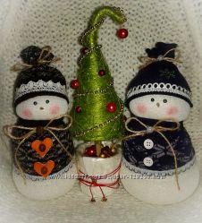 Снеговики к Новому Году