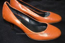 туфли Minelli размер 36, стелька 23, 5 см. Кожа