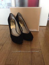Замшевые туфли Michael Kors