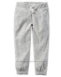Флисовые штаны, поддевы Carters для девочки