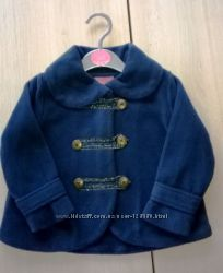 Мини пальтишко пиджак флисовое MINOTI, 80-86см, 1-1, 5 лет