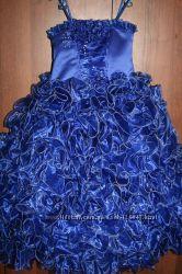 Нарядное красивое платье  на праздник новое